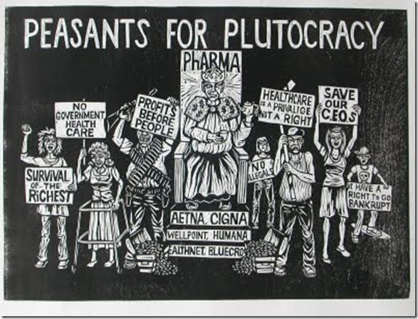 Peasants for Plutocracy by Michael Dal Cerro
