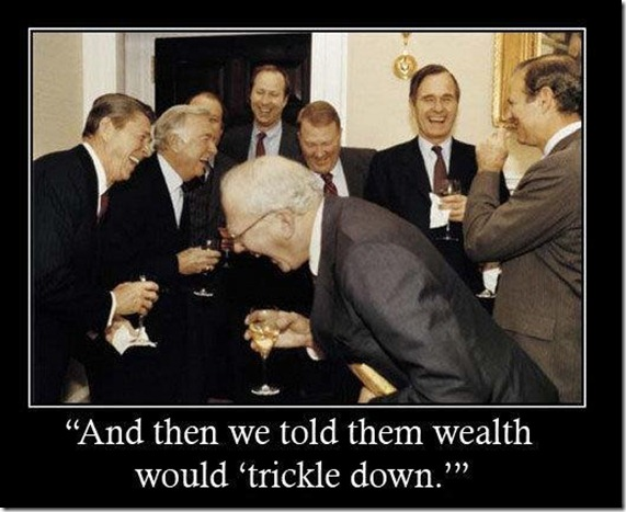 wealth trickle down
