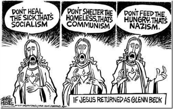 Glenn Beck as Jesus