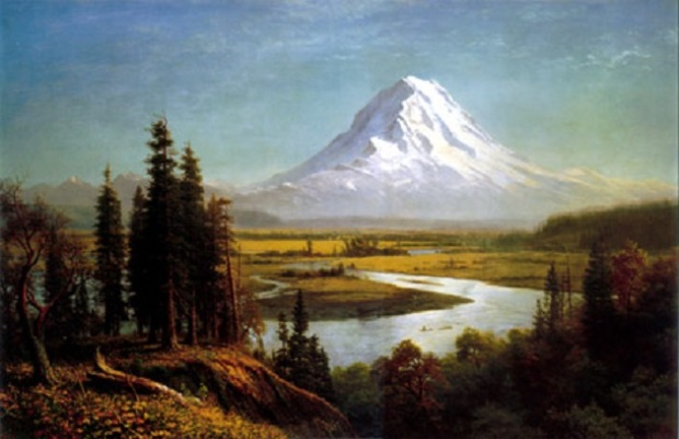Mount Rainier Albert Bierstadt