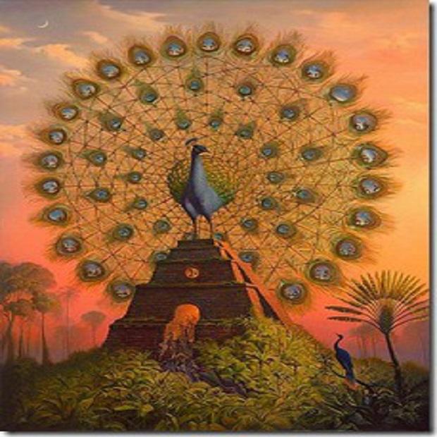 sacred-bird_-of_-yucatan-circlebirdmythicalpaintingpeacockphoenix-cbb29eea4de4a0f4c26b89d5456225401