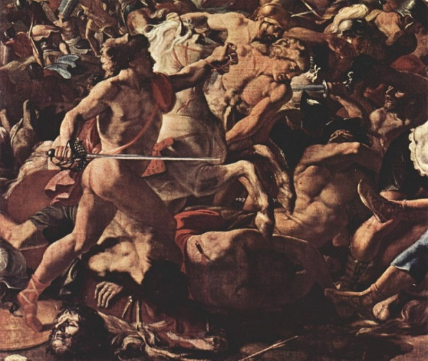 8th descent, murder, poussin_nicolas_battle_of_israelites_with_amorreis_a_fragment_picture_b1